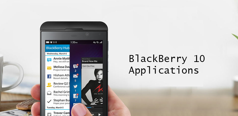 Blackberry 10 Applications